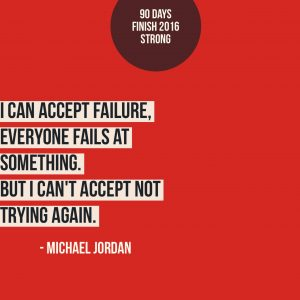 I Can Accept Failure - I Can't Accept Not Trying Again